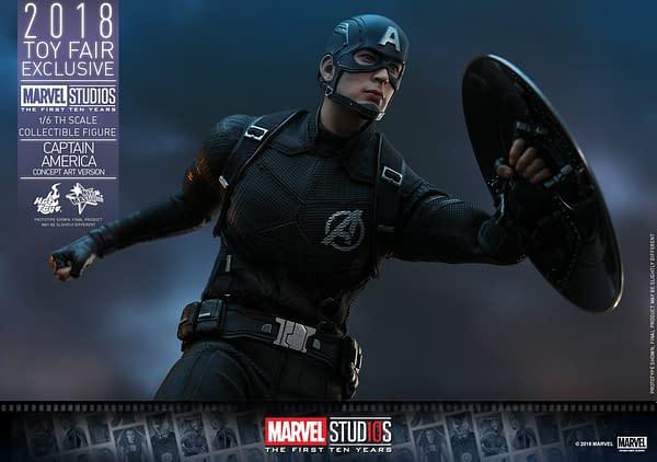 Hot Toys Concept Art Captain America 20