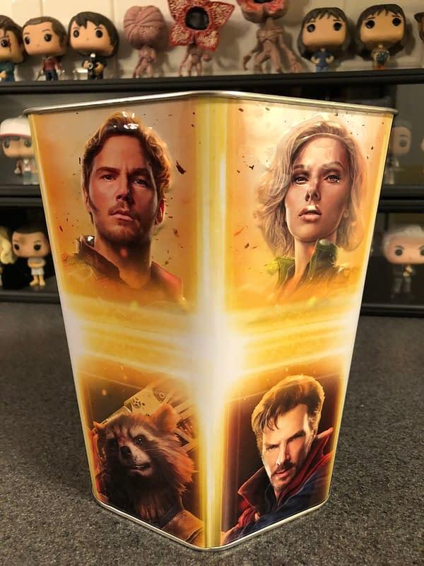Avengers: Infinity War Cinemark Popcorn Tin 3