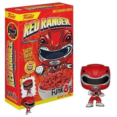 Funko Cereal Red Ranger DesignerCon