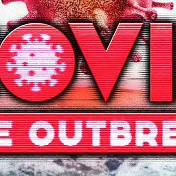 COVID The Outbreak game logo
