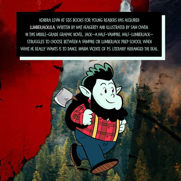 Lumberjackula, a New Graphic Novel From Mat Heagerty and Sam Owen.