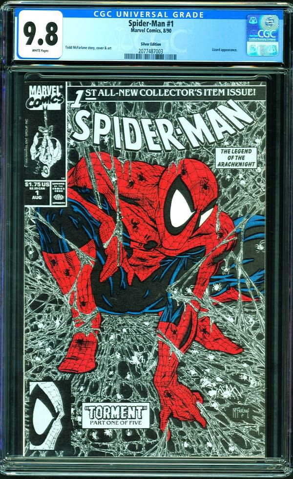 Todd McFarlane's Iconic Spider-Man #1 CGC 9.8 Auction At ComicConnect