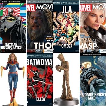 DC Graphic Novels and Marvel Figurines from Hero Collector in May 2020 Solicits
