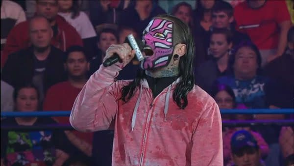 Jeff Hardy Crashes Car, Arrested for Driving While Impaired