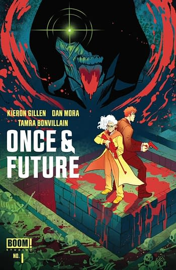 ComicHub variant of Once & Future #1