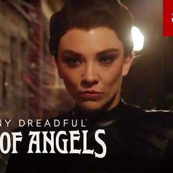 Magda is on the march in Penny Dreadful: City of Angels, courtesy of Showtime.