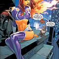 As Starfire Gets More Clothes Superman Gets Back In The Armour