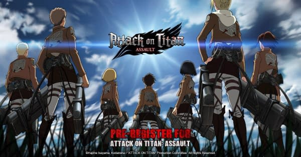 Pre-Registration for Attack on Titan: Assault is Now Open