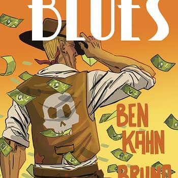 Heavenly Blues #5 cover by Bruno Hidalgo