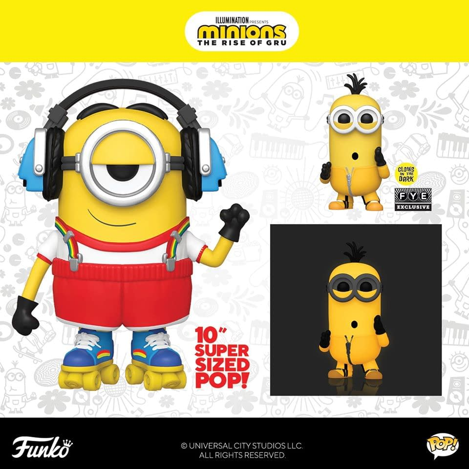 Minions Movie Bored Silly Kevin Funko Mystery Minis Vinyl Figure
