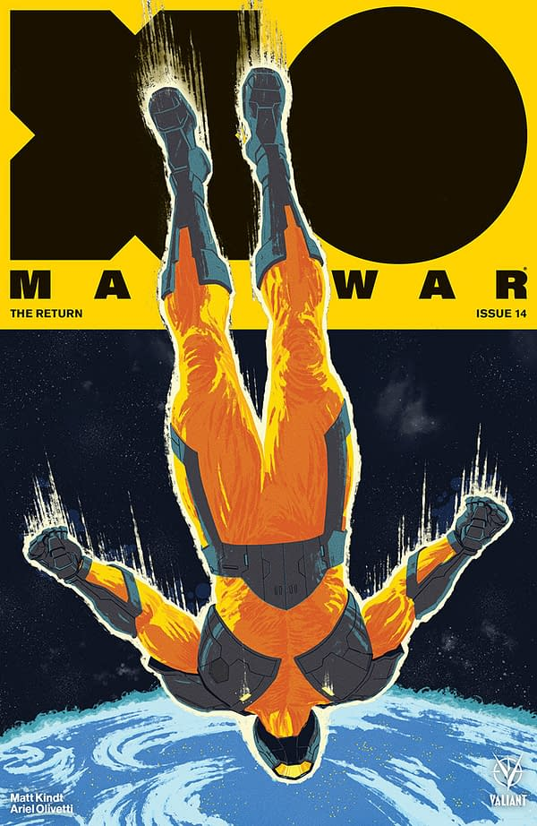 X-O Manowar Returns to Earth: Valiant Entertainment April 2018 Solicits
