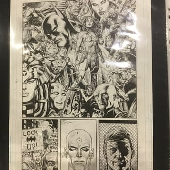 Gary Frank Has Finished the 47 Page Final Issue of Doomsday Clock #12 &#8211 All On Track For December 18th