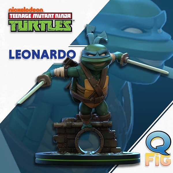 TMNT Q-Figs Coming From QMx: Leonardo!