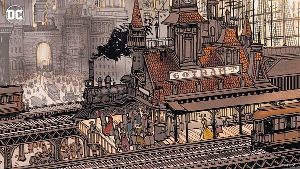 Gotham City Virtual Background