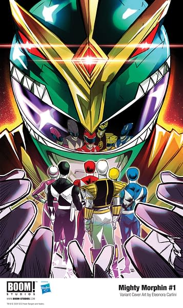 BOOM! Studios Relaunch Power Rangers With Mighty Morphin #1