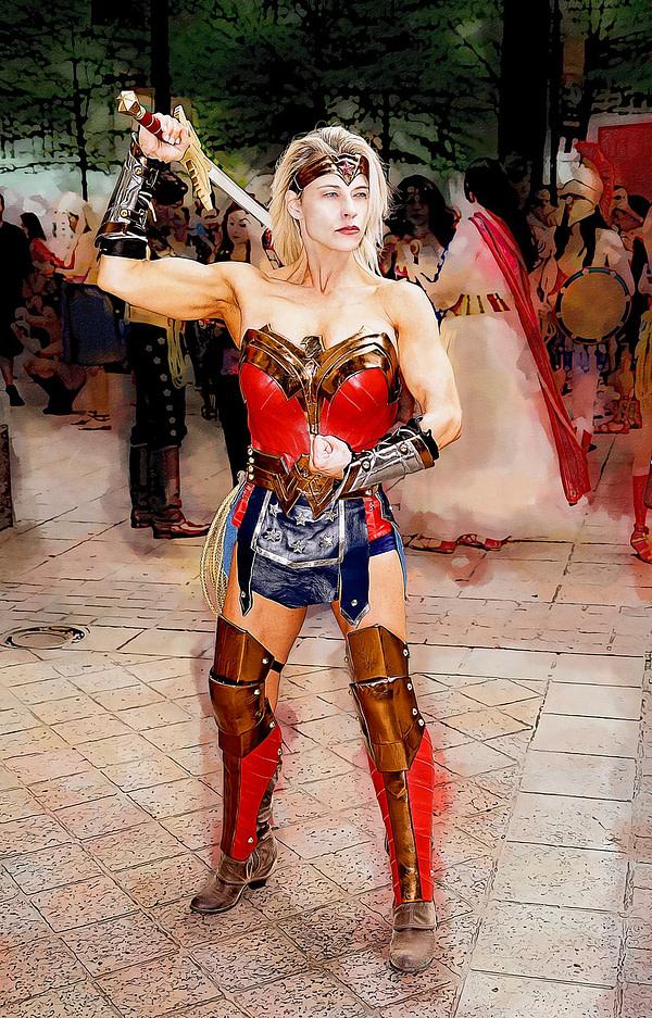 Quand Wonder Woman se trompe en tant que cosplayeuse.