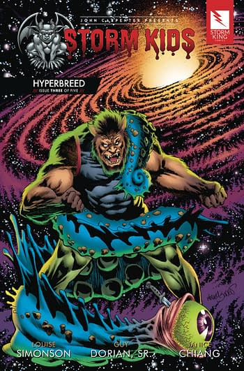 Storm Kids Hyperbreed #3 Main Cover