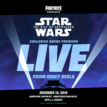 """""""Fortnite"""" Will Be Showing A Clip Of """"#Star Wars: The Rise Of Skywalker"""""""