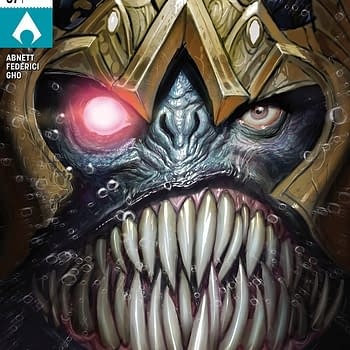 Aquaman #37 cover by Stepjan Sejic