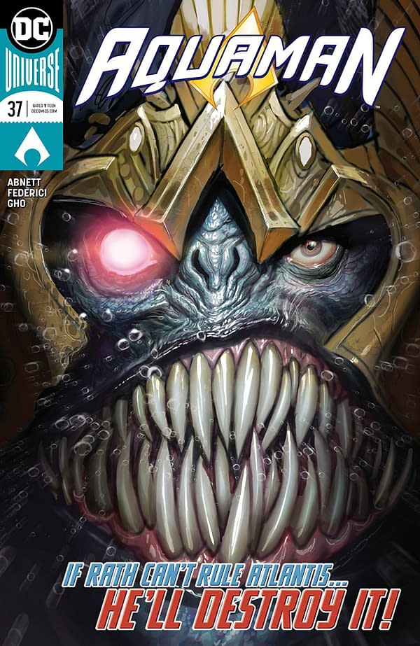 Aquaman #37 cover by Stepjan Sejic