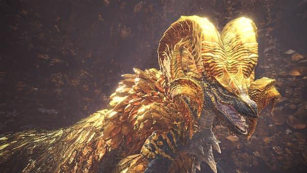 Elder Dragon Kulve Taroth Comes to Monster Hunter: World