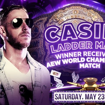 Orange Cassidy joins the list of competitors for AEW's Casino Ladder Match at Double or Nothing. [Graphic by AEW]