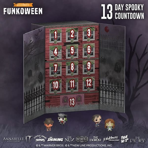 13 Day Spooky Advent Calendar from Funko.