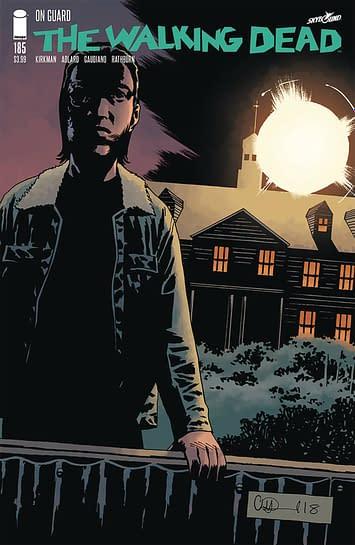 Buy Walking Dead #185, Get Outpost Zero #1 Free