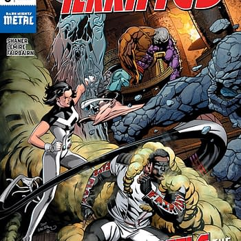 Terrifics #5 cover by Dale Eaglesham and Wil Quintana