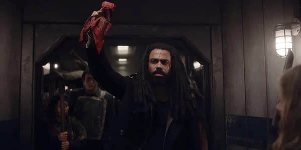Daveed Diggs leads the people in Snowpiercer, courtesy of TNT.