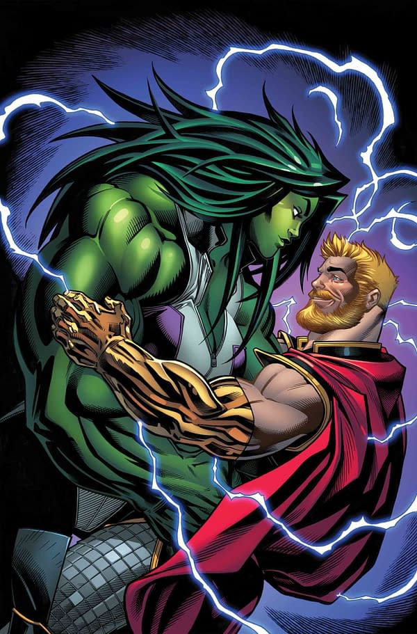 Thor and Hulk, Sitting in a Tree, D-A-T-I-N-G?