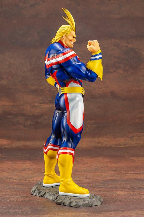 My Hero Academia All Might Gets ARTFX J Statue with Kotobukiya