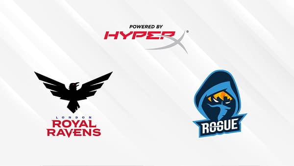 HyperX has formed a new sponsorship with both the London Royal Ravens and Rogue.