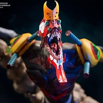 Evangelion Beast Mode Statue from Infinity Studio