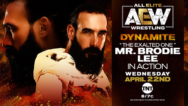 The Exalted One Brodie Lee sera en action sur AEW Dynamite.