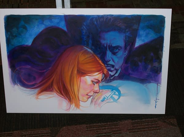 Pepper and Tony-Brian Stelfreeze (1)