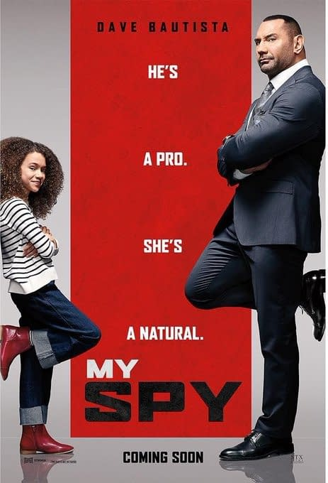 'My Spy': Dave Bautista Shifts Release Date Back a Month to April 17th