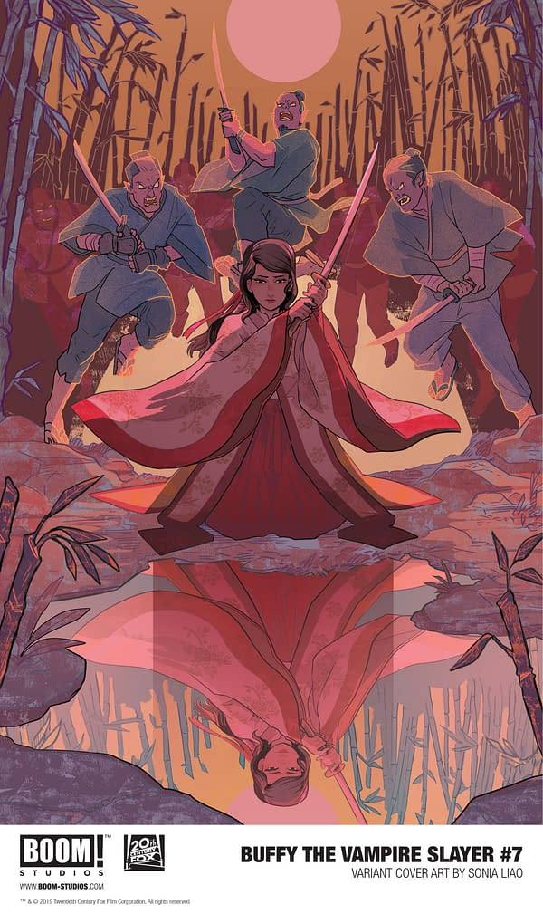 BOOM! Unveils 3 Covers for August's Buffy the Vampire Slayer #7