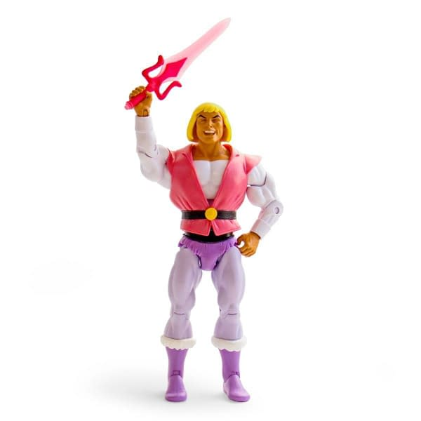 Super7 Masters of the Universe Laughing Prince Adam SDCC Figure 1