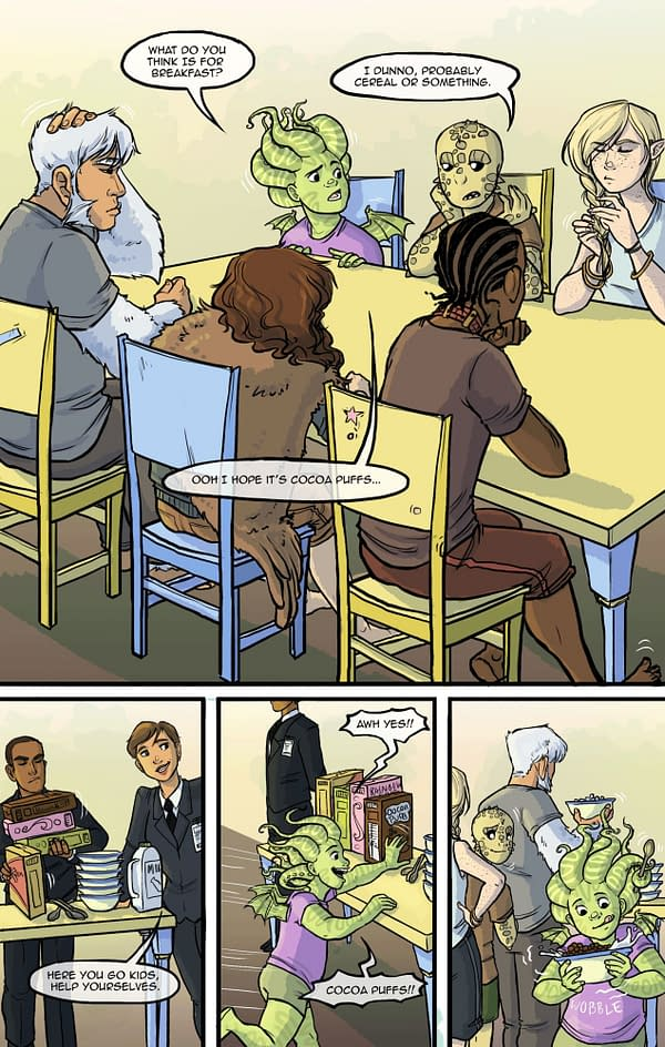 Cait May and Trevor Bream Have Another Kind of Graphic Novel.