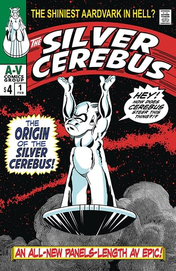 Dave Sim Mashes Up Silvr Surfer and Cerebus for Silver Cerebus