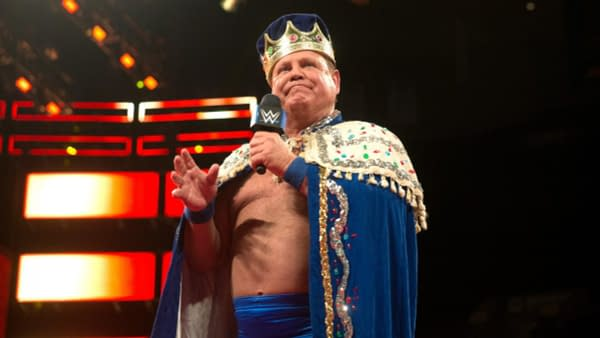 "Jerry ""The King"" Lawler has something to get off his chest on Raw, courtesy of WWE."