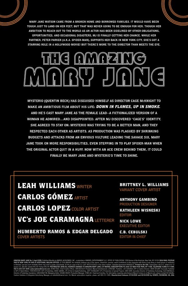 Amazing Mary Jane #5 [Preview]