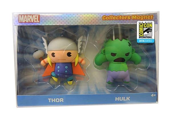 Monogram SDCC Exclusive Thor and Hulk Figure Key Set