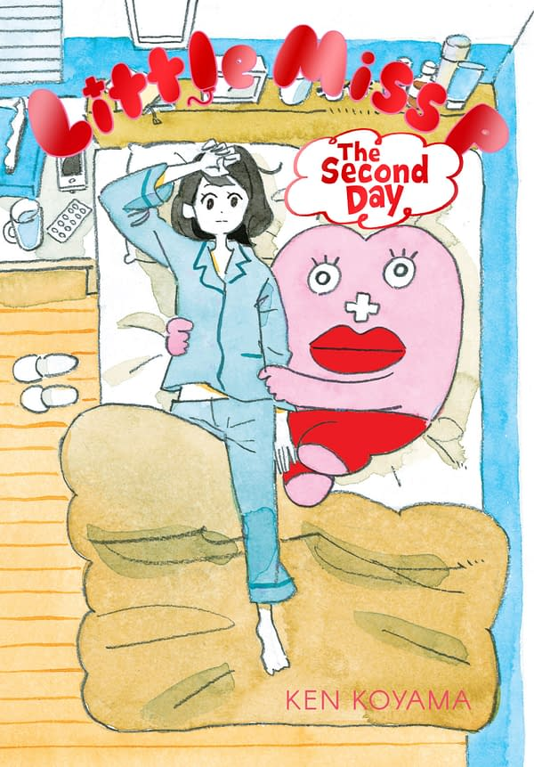 The cover of Little Miss P: The Second Day by Yen Press.
