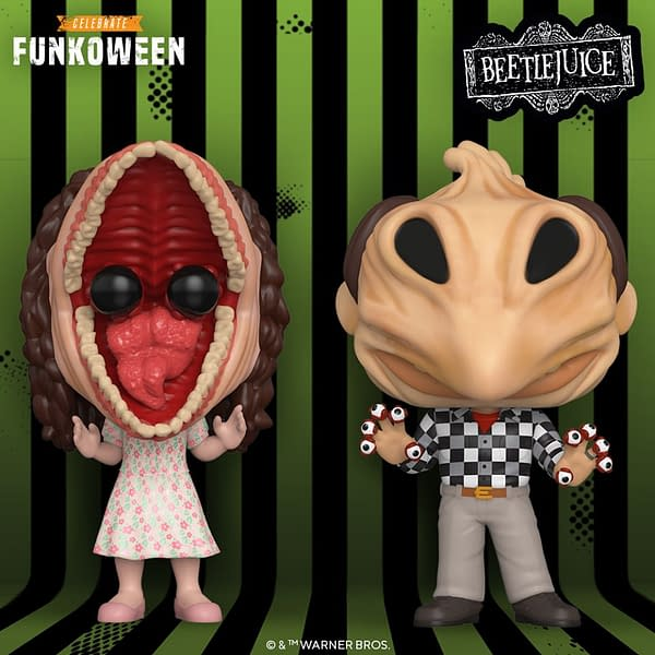 Beetlejuice and Pennywise Get Funko Funkoween Reveals