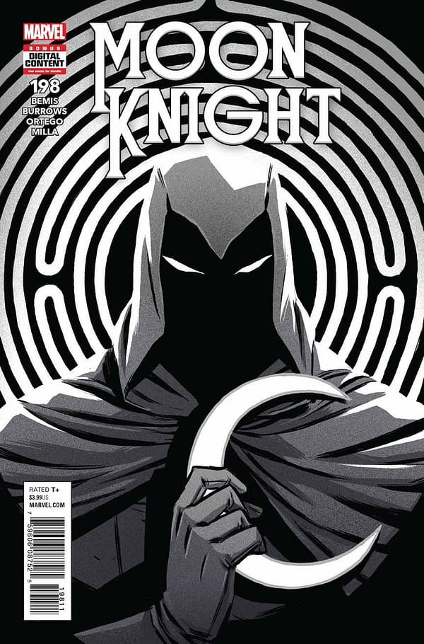 Only One Dolphin Was Harmed in the Making of the Preview for Moon Knight #198