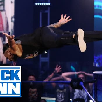 WWE Smackdown 7/3/20 Part 2 - Did Sheamus Make Jeff Hardy Relapse? (Image: WWE)