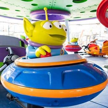 toy story land alien ride