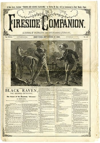 Fireside Companion No. 829, September 17, 1883, published by George Munro.
